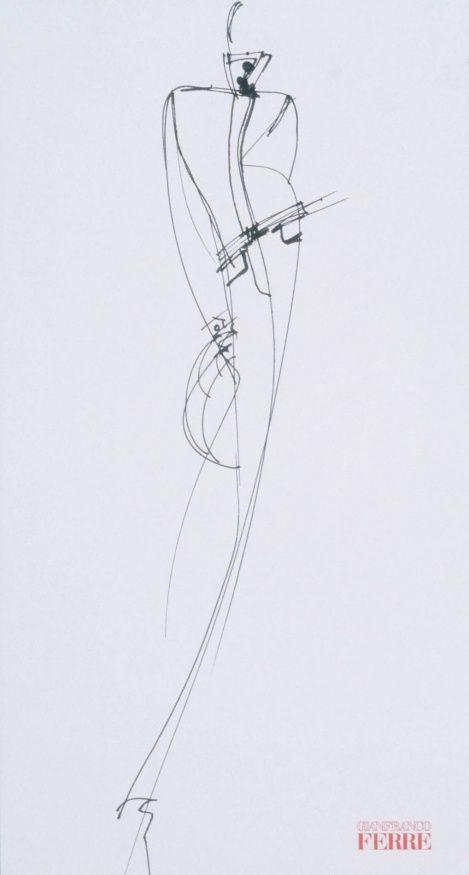 Fondazione Gianfranco Ferré / Collections / Woman / Prêt-à-Porter / 1997 / Fall / Winter
