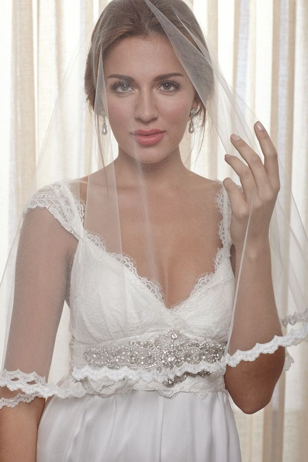 Belle Ivoire Bridal Collection By Anna Campbell-love the neckline