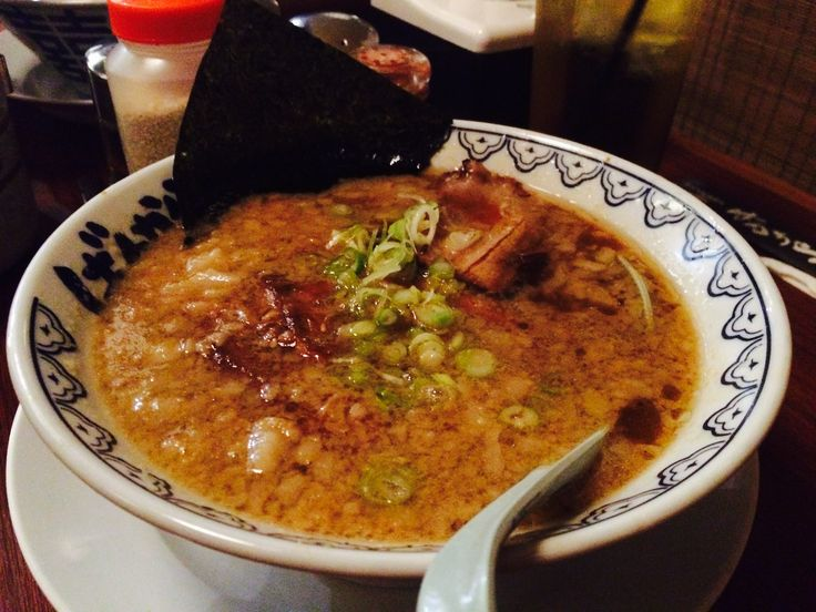 Kakuni Bankara Ramen. Actually I don't like bcause too much fat. I prefer Ikkudo Ichi Ramen or Menya Sakura Ramen