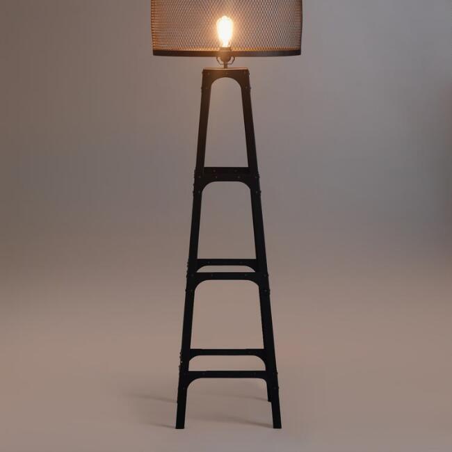 Riveted Floor Lamp Base - v1