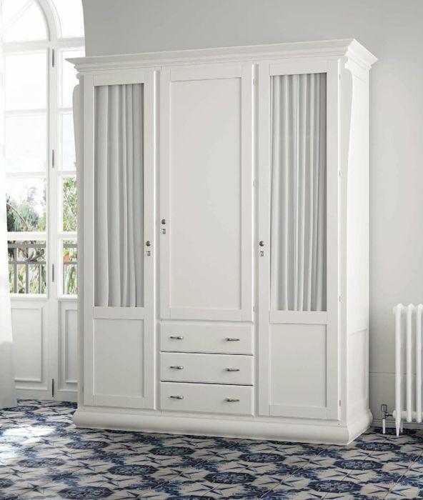 Armarios roperos colección mediterraneo, mira nuestra sección de armarios cláscios en: http://rusticocolonial.es/mueble-clasico/muebles-de-dormitorio-clasicos
