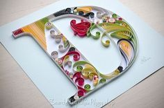 unknown artist- ABCs quilling (Searched by Châu Khang)