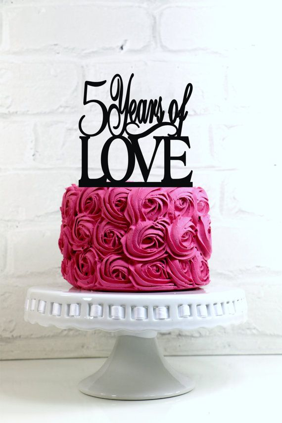 Hey, I found this really awesome Etsy listing at https://www.etsy.com/listing/219589632/5-years-of-love-5th-anniversary-or