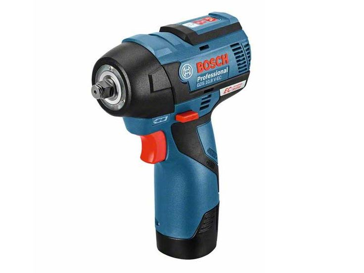 Bosch GDS108VECN 10.8v Li-Ion Brushless Impact Wrench Bare Unit