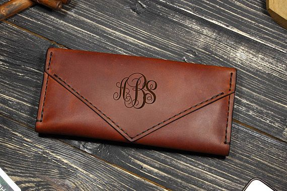 Womens Wallet Leather, Personalized Gifts for Her Birthday, Womens Wallet, Gifts for Mom From Son, Custom Leather Wallet Woman, Wife Gift