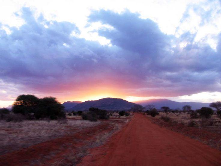 tramonto - safari - Kenia