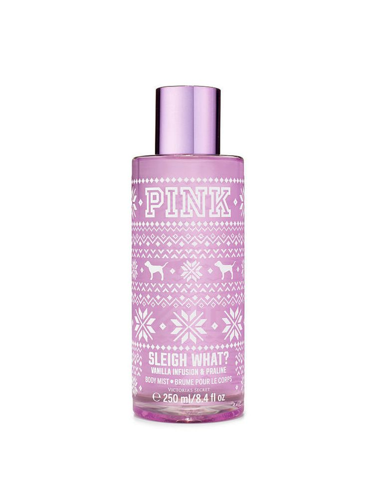 Victoria's Secret PINK Sleigh Whatt Body Mist on sale for  $10!