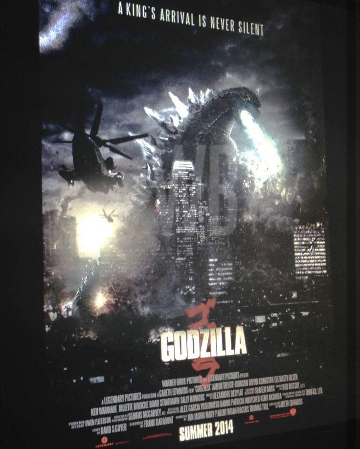 "Possible ""Fake"" Godzilla 2014 Movie Poster"