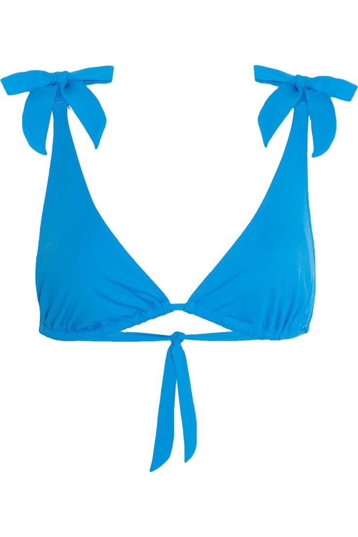 Violet Lake|Elektra bikini top|NET-A-PORTER.COM