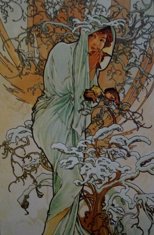 Alfons Mucha at the Gallery of Art, Prague - Image 23
