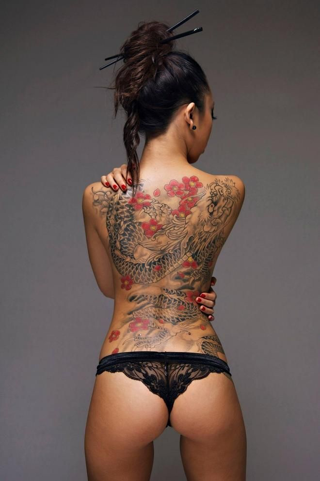 Asian Tattoos Designs 100