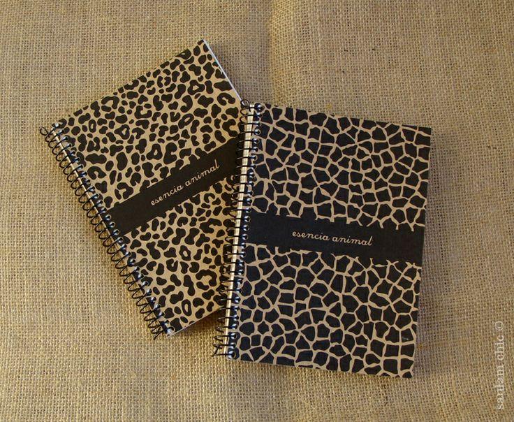 Cuaderno mini print animal. + info: http://wp.me/p3j0Sm-mu