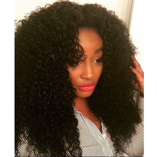 Weave That Looks Like Natural Curly Hair Human Hair Extensions