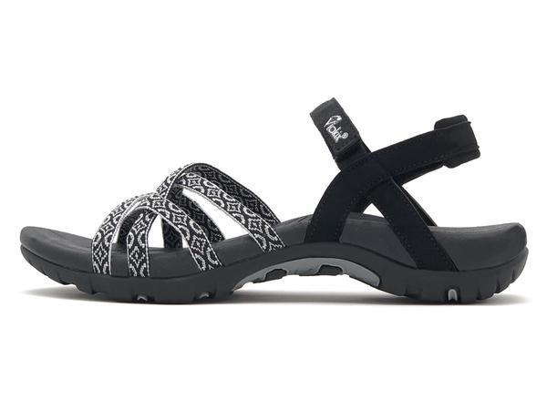 26aeb4562778f The Samara Walking Sandal for Women - Black in 2019   Arch support ...
