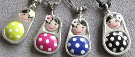 """pop-top """"matryoshka"""" dolls--- picture only-- maybe made with painted clay bodies"""