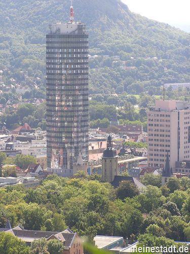 Blick vom Landgrafen auf Jena
