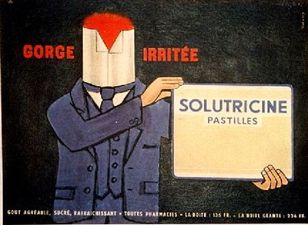 Gorge irritée - Raymond Savignac (1957)