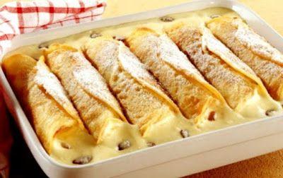 Piperatoi.gr: Κρέπες με κρέμα βανίλιας
