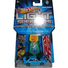 Hot Wheels Light Racer Vehicle (Colors/Styles vary)