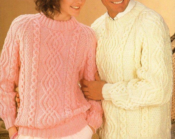 Womens knitting pattern pdf womens aran waistcoat beret ...