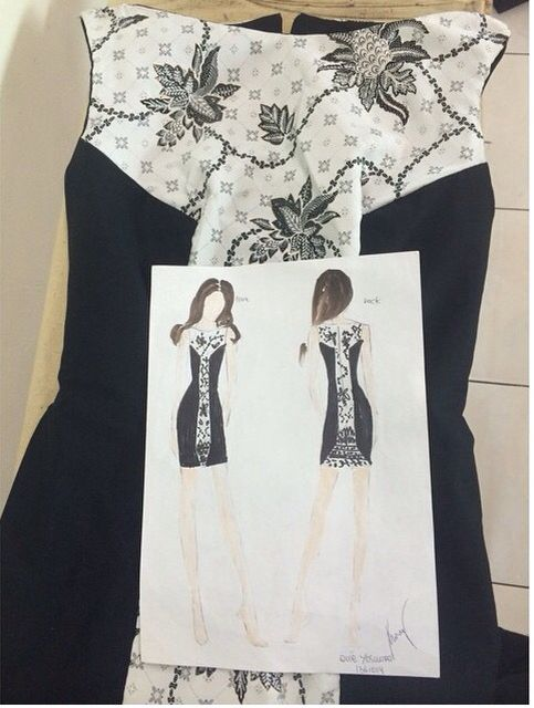 Batik Dress by Evie Y