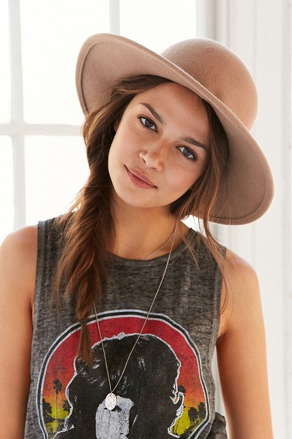 Ecote Felt Round Top Hat bohemian boho hat. Click the link to shop right now!