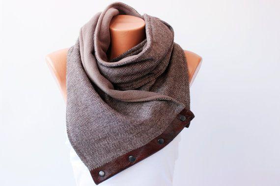 winter scarf  NECKWARMER scarf by SenasShop, $49.00