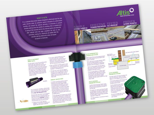 Altis Commercial Brochure, Inner Layout