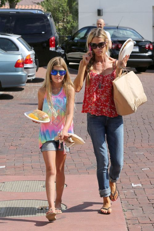 Denise Richards Steps Out With Sam