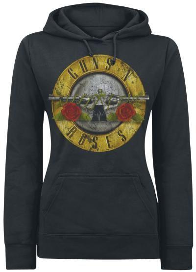 Guns N' Roses jersey con capucha mujer 49,99€ EMP Online España • Tienda Rock…