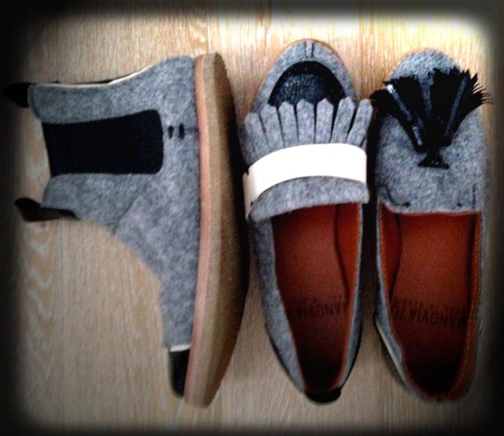tweed shoes