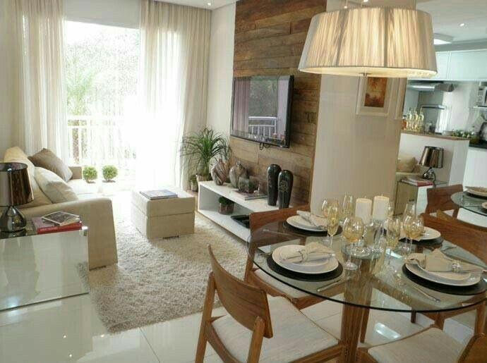 Ferienwohnung, Garten, Kleines Wohnzimmer, Speiseräume Für Kleine Gruppen,  Kleine Zimmer, Kleine Wohnungen, Esstische, Sao Paulo, Tv Wände