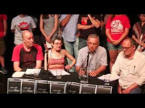 Manuel Blanco Chivite, La Comuna, en solidaridad con el caso Altasu
