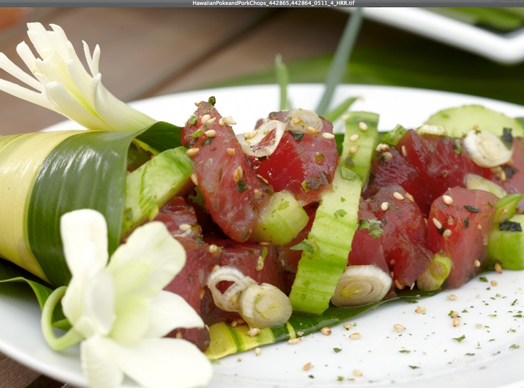 Hawaiian Tuna Poke using Cost Plus World Market spices