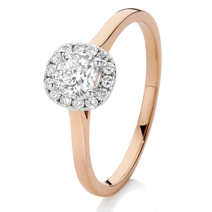 .64ct of Diamonds in 18ct White/Rose Gold.