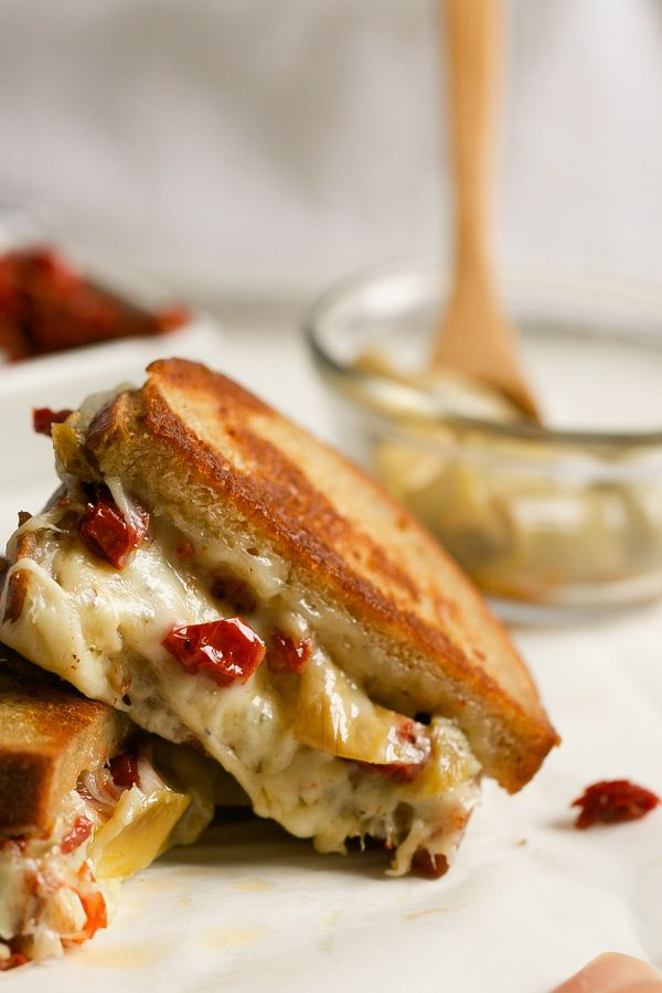 ... Italian-style grilled cheese sandwich recipe is PACKED with flavor and