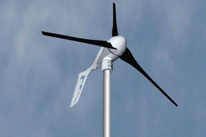 Generator wiatrowy Tuuli 400 z kontrolerem ładowania