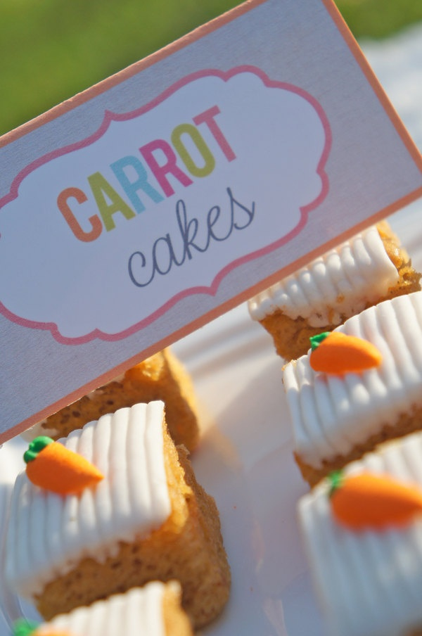 carrot cake decorations how to make