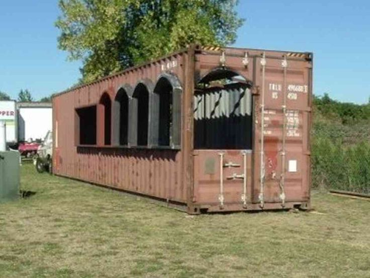 Forget big box stores how about a big box house mexicans restaurants and steel - Building homes with shipping containers ...