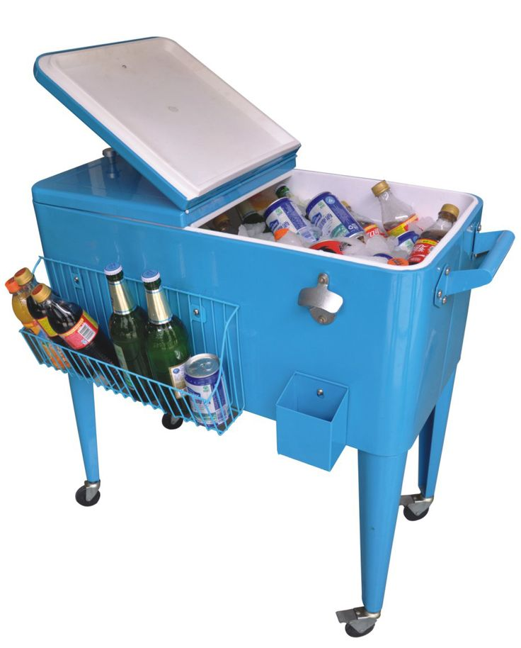 Exceptional Steel Patio Deck Outdoor Bar Kitchen Cooler With Cart 80 Quart Capacity  From Jinhua Dongrun