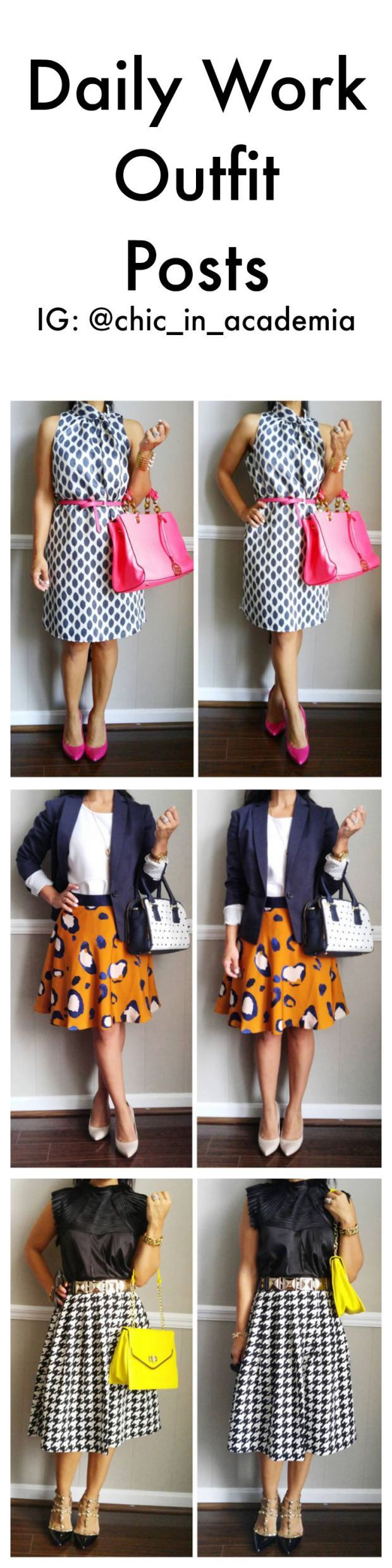 Work Outfits, http://chicinacademia.com