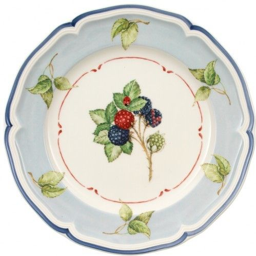 "Cottage 8.25"" Salad Rimmed Plate"