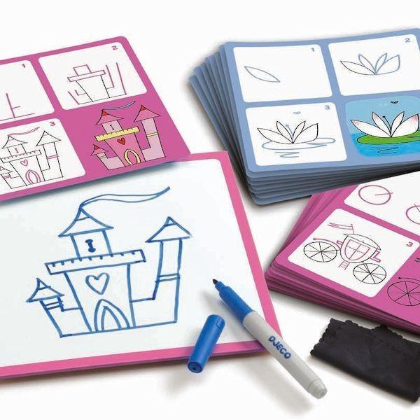 Lépésről lépésre - rajzolni tanulok- Josephine and Co (Djeco Step by Step) | Pandatanoda.hu Játék webáruház