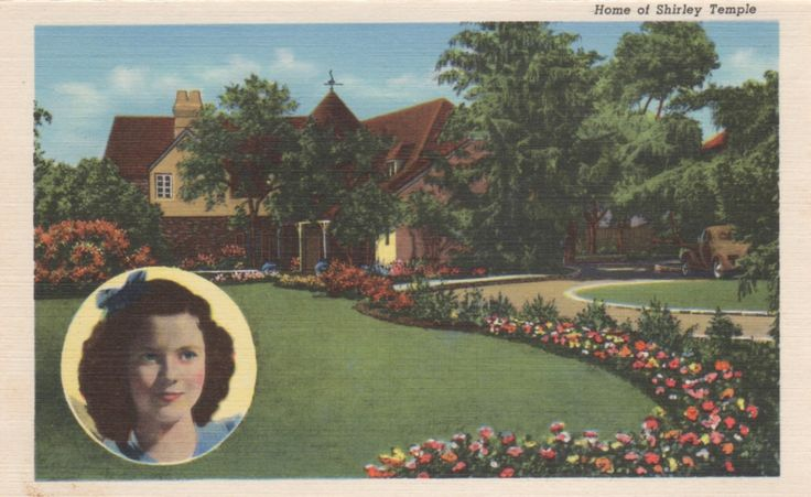 17 best images about vintage postcards movie star homes on for Movie stars homes in beverly hills