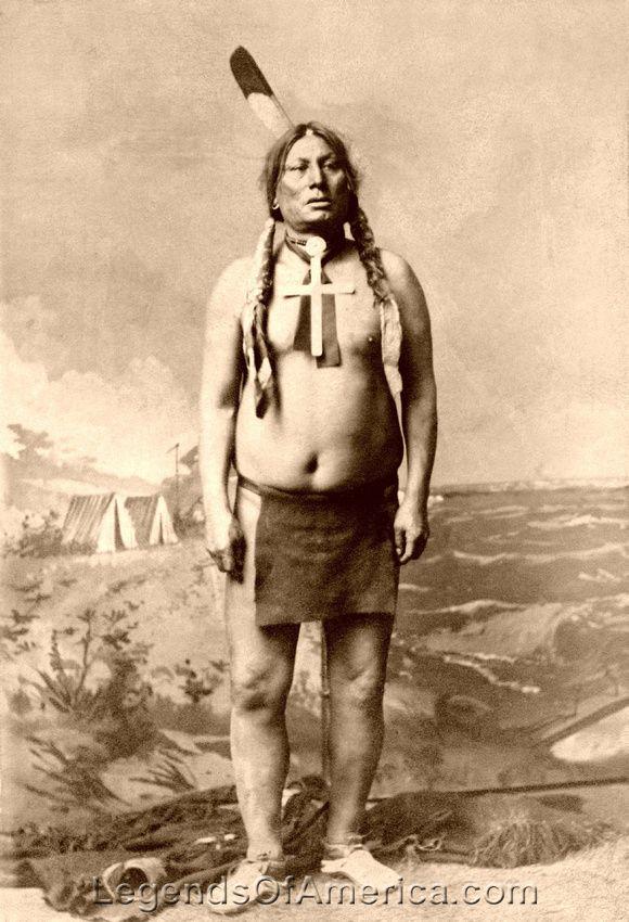 Hunkpapa Lakota Sioux - Chief Gall, 1885                                                                                                                                                                                 More