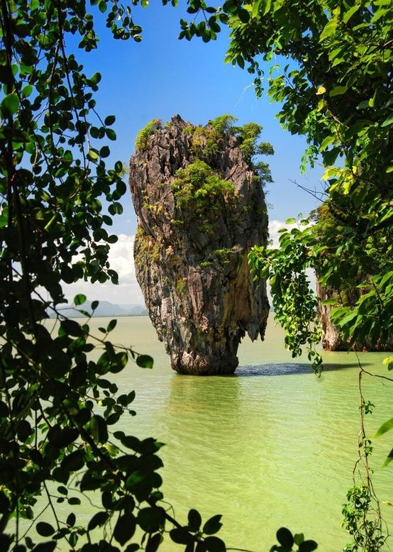 krabi beach, phi phi island, thailand.- the island that has been photoshopped to death all over pinterest.