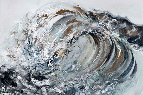 Bold Breaking Waves by Maggi Hambling - My Modern Metropolis