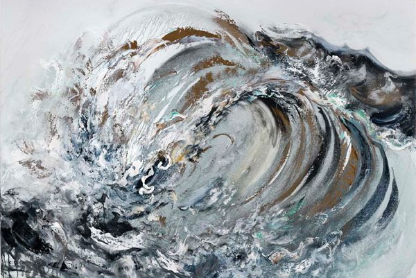 Paintings of the sea by Maggi Hambling  http://www.maggihambling.com/index.php