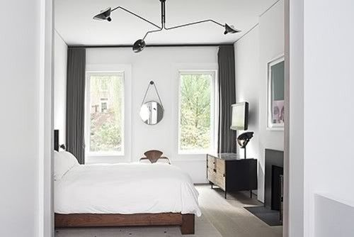 serge mouille three arms ceiling lamp reproduction contemporary. Black Bedroom Furniture Sets. Home Design Ideas