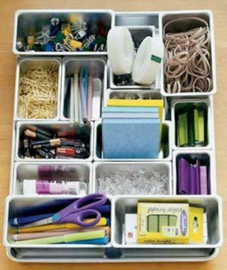 Small Plastic Containers Keep Smaller Items Safe - 150 Dollar Store Organizing Ideas and Projects for the Entire Home